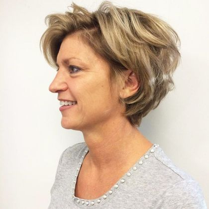 50 best short hairdos for women over 60 will knock 20