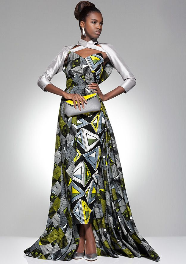 African Material Dresses Evening – fashion dresses