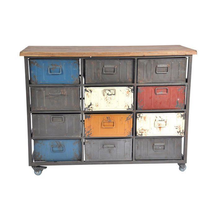 Vavoom Emporium - Substation Iron Cabinet - 12 Drawers - SALE, $759.00 (http://www.vavoom.com.au/substation-iron-cabinet-12-drawers-sale/)