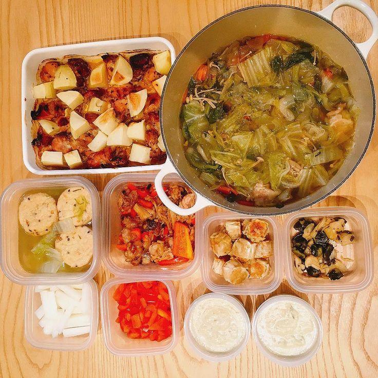 こんにちは!IT系アラサーOLのスプラウトです(`・ω・´) 最近作り置きを再開したので、自分用メモがてら、どんなレシピで作ったのか書いていこうと思います。 目次 1月最終週の作り置き(9品) レシピといえるほどのものではないレシピの紹介 1. 鶏もも肉のハニーマスタード焼き 2. 野菜のスープストック 9. ごぼうのポタージュ 1月最終週の作り置き(9品) せっかくなので、オススメのもの、リピしとるものを中心に何を作ったかメモ。 写真にあるのは左上から、 鶏もも肉のハニーマスタード焼き 野菜のスープストック がんもどき 豚小間とパプリカの甘酢炒め 揚げ焼きシュウマイ お漬物 梨味大根 パプリ…