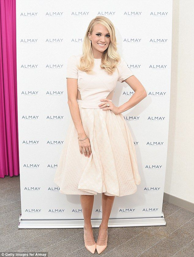 274 best carrie underwood images on pinterest angelic with almay carrie underwood attended the almay fresh faced beauty day in new junglespirit Gallery