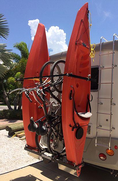 Welcome To YAKUPS® RVKAYAKRACKS.com The Original Vertical Kayak Rack.