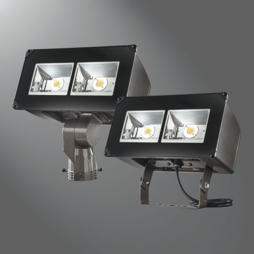 Eaton introduces the lumark night falcon light emitting diode led floodlight luminaire