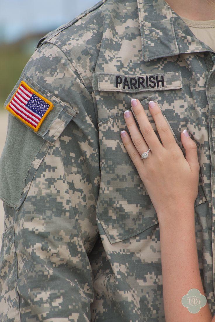 Engagement Photography @Dakota Hersey Photography Military Couple