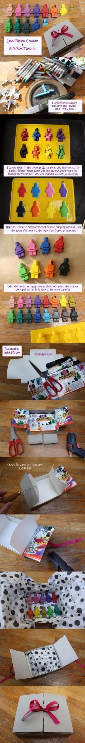 Make It: Lego Man Crayos - Tutorial #kids by Divonsir Borges