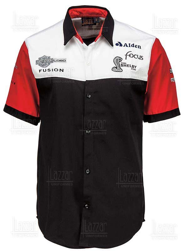 Camisa Racing. Encuentra este Pin y muchos más en Uniformes Ejecutivos  c639cea5d9a81