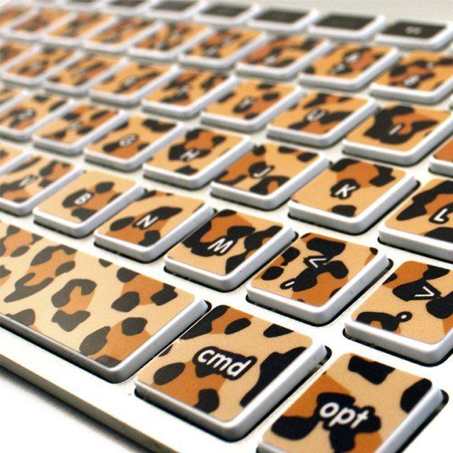 Kidecals Leopard Print Keycals – $16
