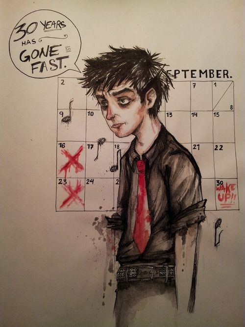 this is beautiful....and sad... Green day wake me up when September ends