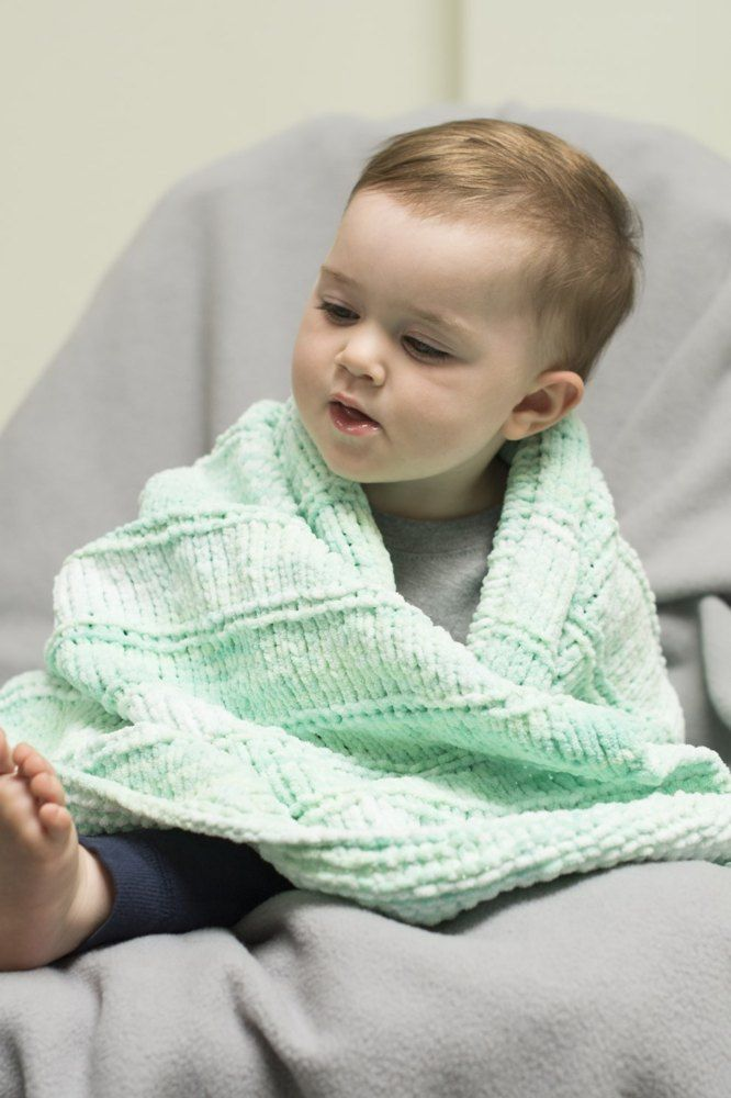 db5416cd4 Pluff Baby Blanket in Cascade Yarns Pluff - B244 - Downloadable PDF FREE  Knitting Pattern