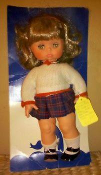 Arianna furga 35cm capelli castani