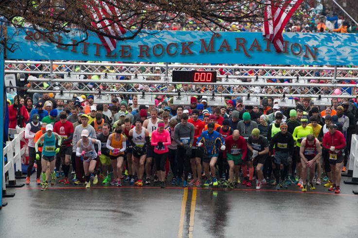 Little Rock Marathon http://www.runnersworld.com/bucket-list-races/bucket-list-10-great-marathons-for-first-timers/slide/2