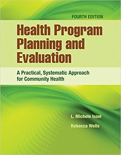 Health program planning and evaluation 4th edition by issel isbn 13 health program planning and evaluation 4th edition by issel isbn 13 978 1284112115 fandeluxe Gallery