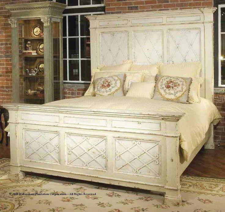 Habersham Mediterranean Manor Queen Panel Bed