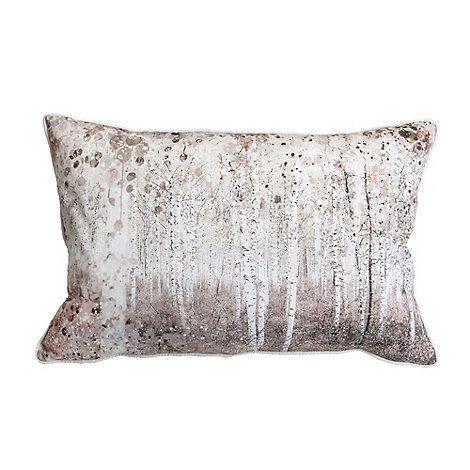 Graham & Brown Watercolour Woodland Cushion | Debenhams