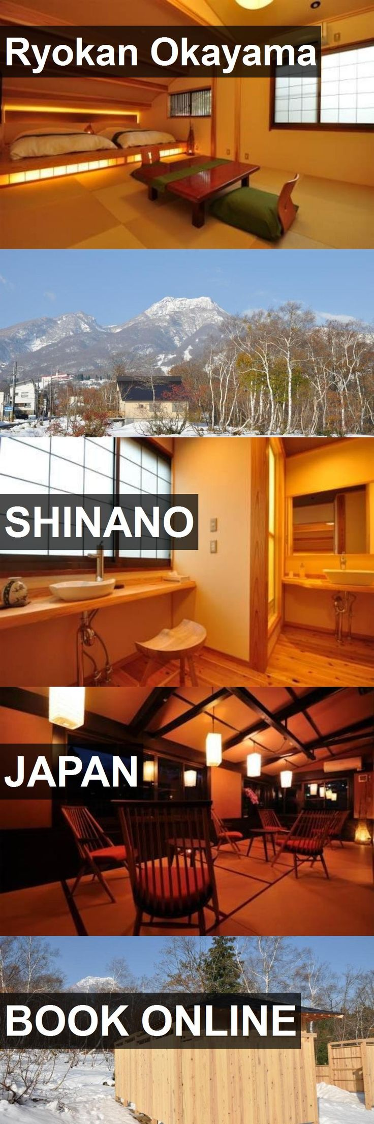 Hotel Ryokan Okayama in Shinano, Japan. For more information, photos, reviews and best prices please follow the link. #Japan #Shinano #travel #vacation #hotel