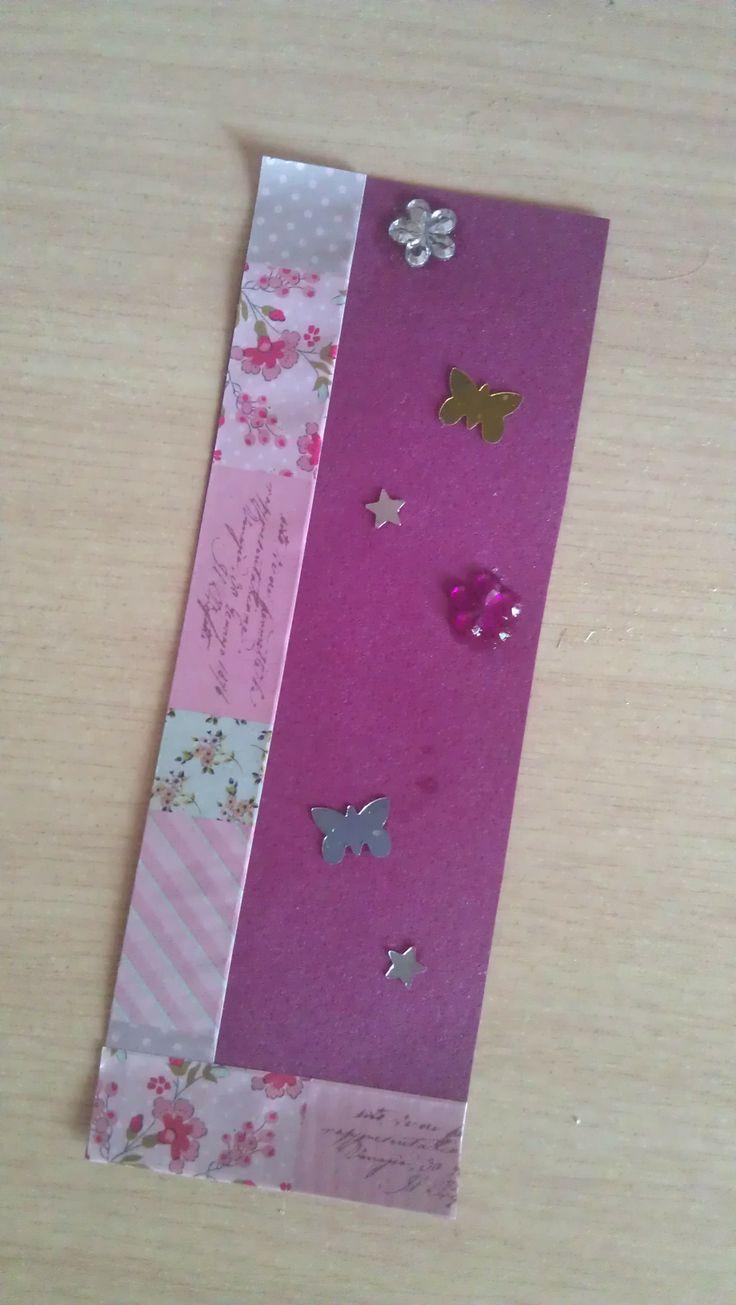 homemade bookmarks