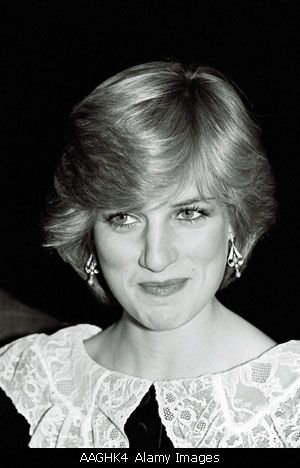 This was picture was taken on Nov. 23, 1981 when The Princess of Wales attended the London Film Festival.