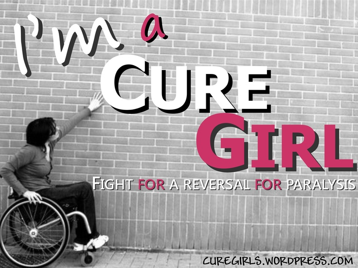 Cure Girls: Fight For a Reversal For Paralysis!    CURE GIRLS BLOG: http://curegirls.wordpress.com/  CURE GIRLS (English): http://curegirls.wordpress.com/category/cure-girls-english/  CURE GIRLS (Italiano): http://curegirls.wordpress.com/category/cure-girls-italiano/      Foto Originale By Roberto Raschella'