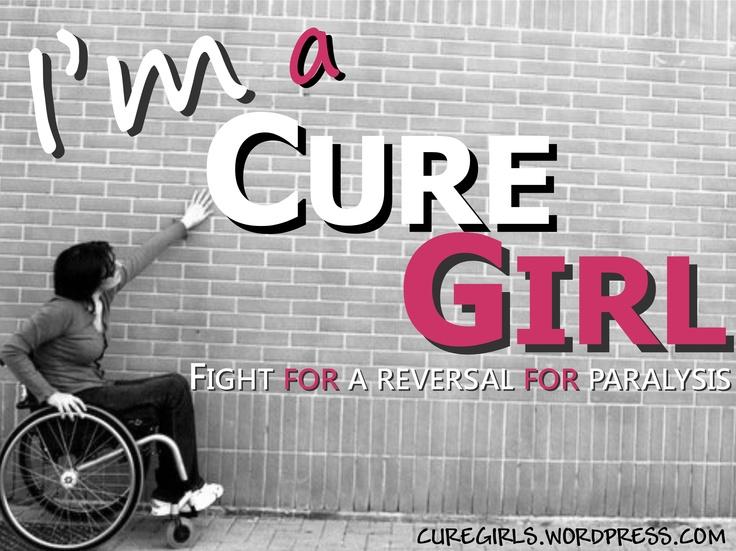 Cure Girls: Fight For a Reversal For Paralysis!    CURE GIRLS BLOG: http://curegirls.wordpress.com/  CURE GIRLS (English): http://curegirls.wordpress.com/category/cure-girls-english/  CURE GIRLS (Italiano): http://curegirls.wordpress.com/category/cure-girls-italiano/      Foto Originale By Roberto Raschella'