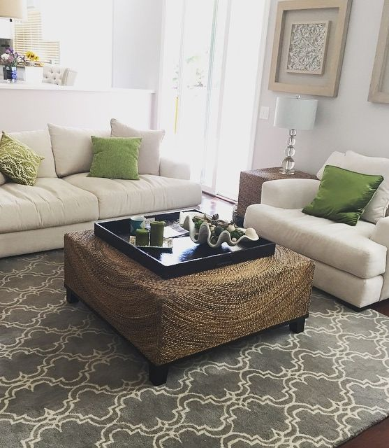 Ashleelynnespinosa Styled A California Inspired Space With Our Stella Seating Collection And Concentric Coffee Table