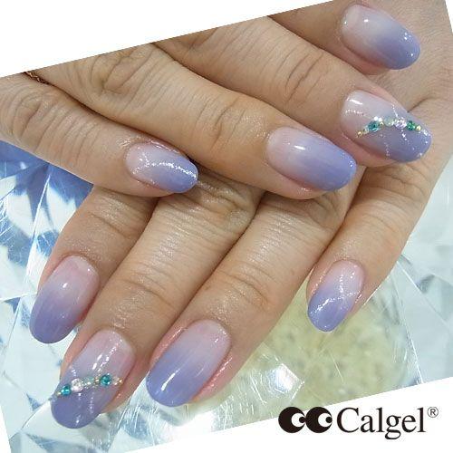 Cal Gel Nail: Today's Calgel Nails Colors CGPU01 CG43 #Calgel