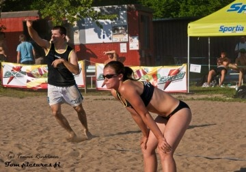 Play beach volley in Kuopio 15.-17.6.2012
