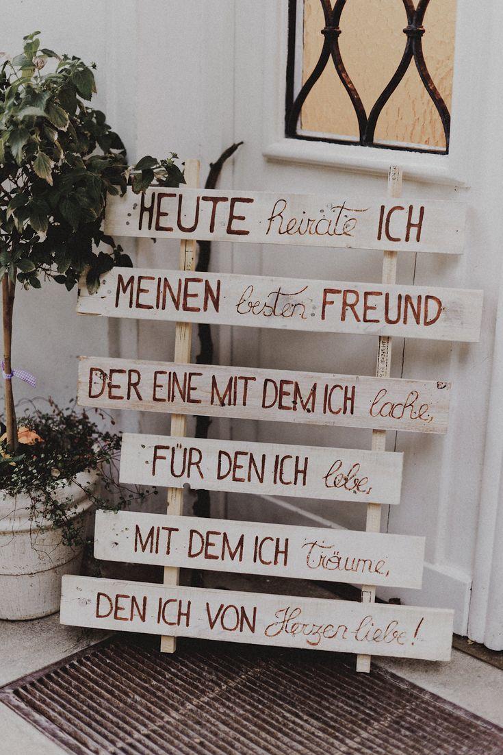 Romanntische DIY-Hochzeit am Attersee in Österreich – Mrs. Bridal