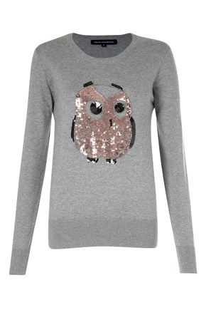 Lady Owl Sequin Top, $99, now featured on Fab.