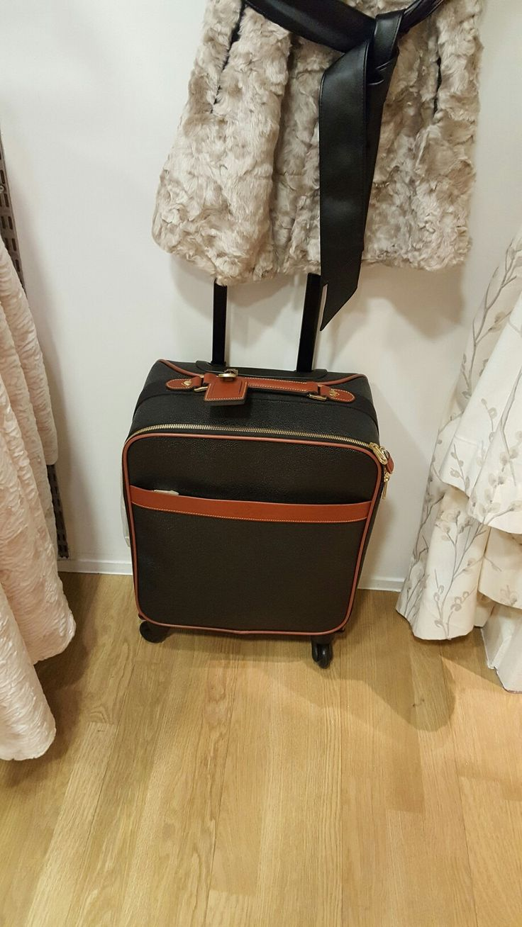 Mulberry hand luggage!