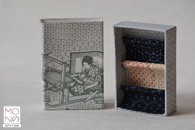 ...Kasuri... Ispirazione da telaio tradizionale giapponese: tessitura della seta nella tradizionale fantasia kasuri