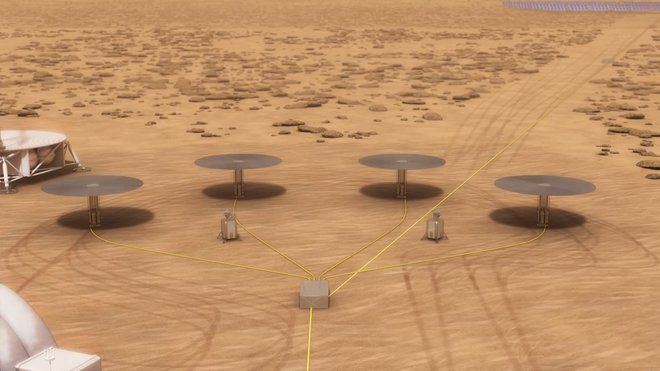 NASA to Test Fission Power for Future Mars Colony