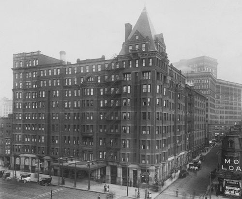 The Hollenden Hotel, Cleveland Ohio, 1900