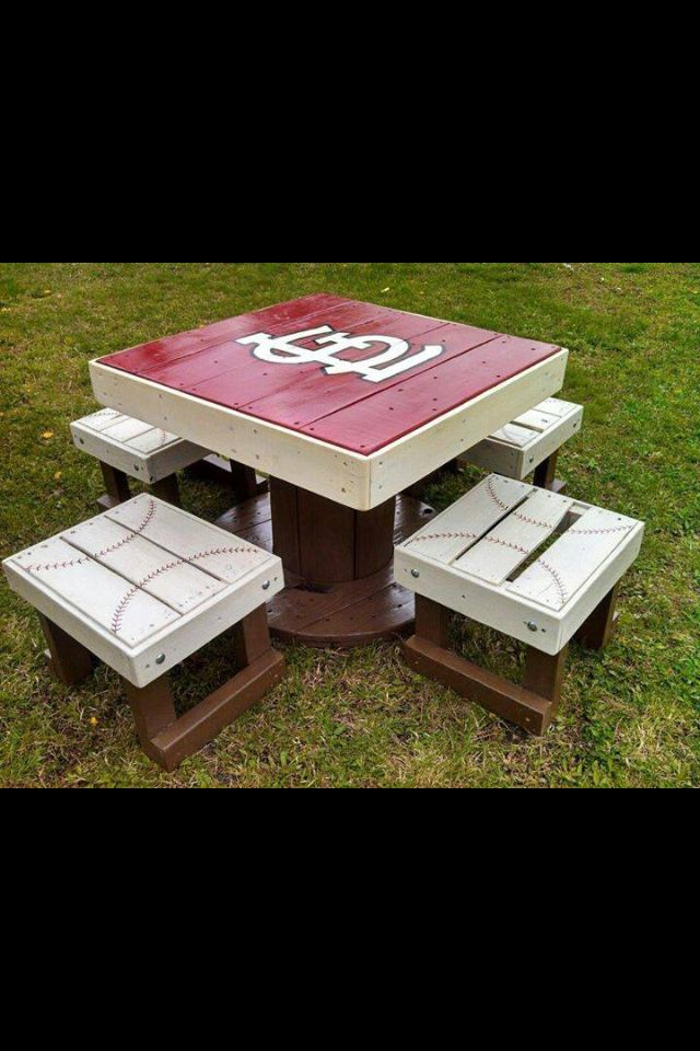Would be awesome to take this idea and remake it a little for Royals, or football themed. Use pallets to reclaim the wood possibly.