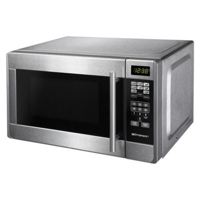 Emerson .7 Cu. Ft. Stainless Steel Urban Microwave.Opens in a new window