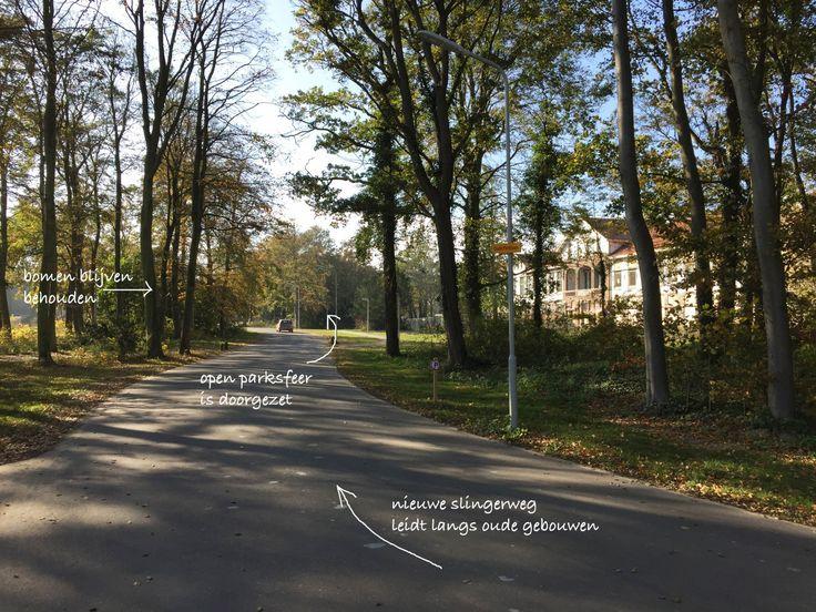 Vision and landscape design for care estate Duin & Bosch Castricum by Vollmer & Partners