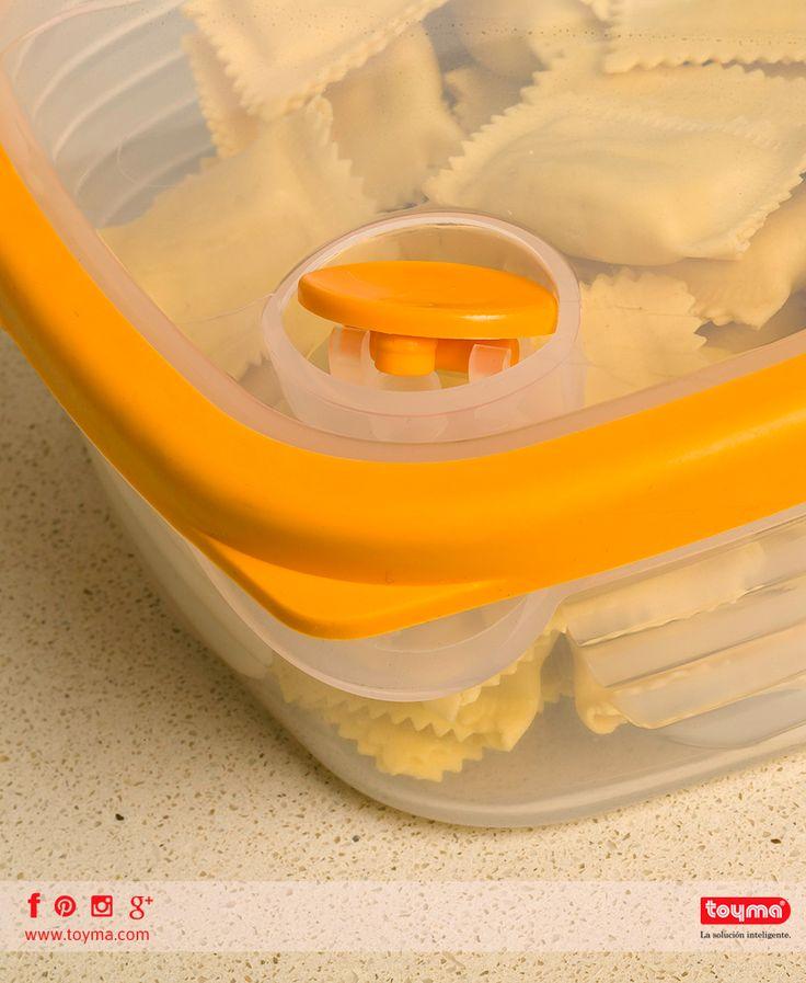 Hermético multiusos para cocina. 🔴Se puede lavar en el lavavajillas. 🔴Para conservar en frigorífico y congelador. 🔴Se puede calentar en el microondas. 🔴Superficie antideslizante.  Más información aquí >> http://toyma.com/catalogo/cocina/hermeticos/hermetico-multiusos-1-l-id1662  #toyma #hermetico #cocina #tupper #Tupperware #multiusos #airtights #multipurpose #container