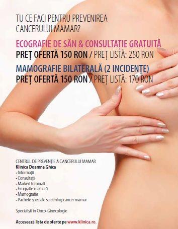 Tu ce faci pentru prevenirea cancerului mamar? La Klinica Doamna Ghica am inaugurat Centrul de Preventie al Cancerului Mamar. Intra pe www.klinica.ro pentru mai multe informatii!