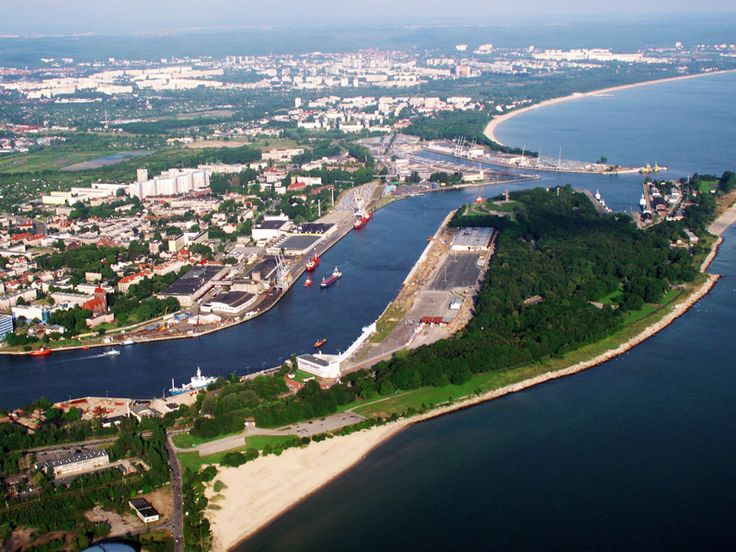 Gdańsk - Mouth of the River Vistula author: Joanna Nowaczyk