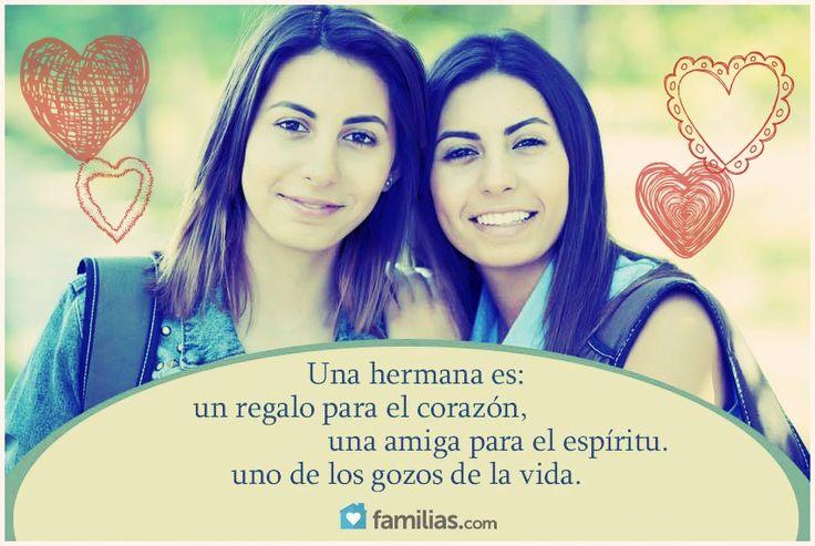 Una hermana es un regalo