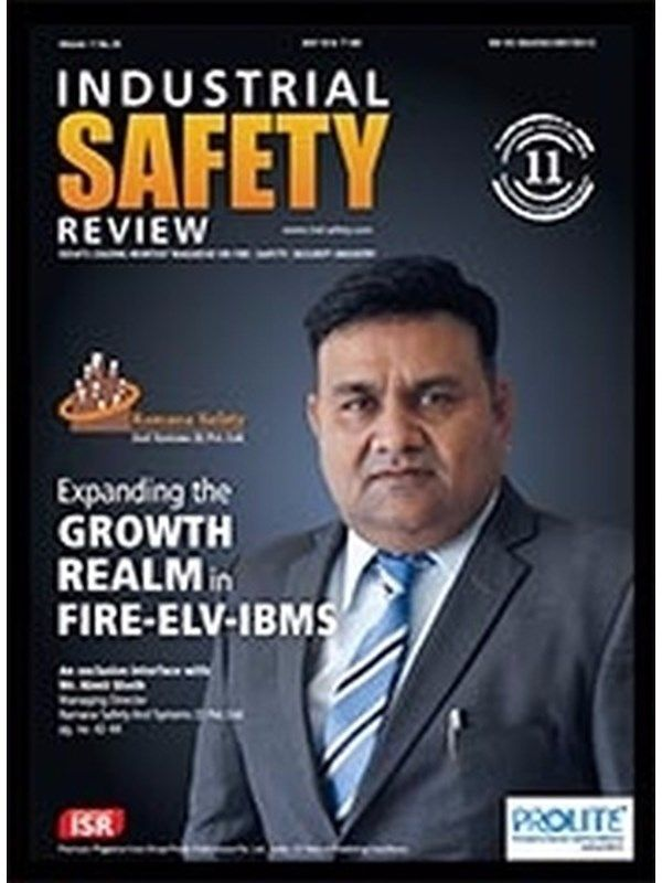Industrial Safety Review June 2016 Issue- Fire-ELV-IBMS  #IndustrialSafetyReview #SafetySystems #NimitSheth #ebuildin