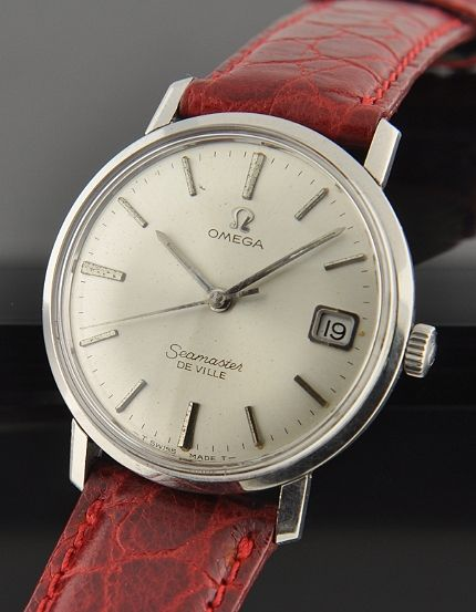 I NEED TO CHANGE MINE TO THIS RED LEATHER STRAP! - Omega Seamaster De Ville
