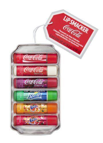 LiP SMACKER 6 Baumes à Lèvres Boîte Métal Coca Cola Canette