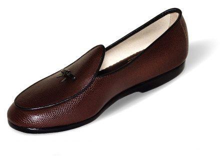 Mr. Casual Men's Lizard Calf Shoe