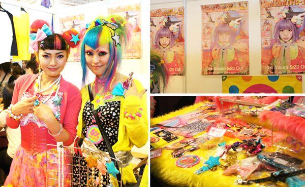 6%DOKIDOKI Post Card 6%DOKIDOKI is a 'Sensational' Kawaii store in Harajuku that was established since 1995. The store sells really colorful, vivid, pop a