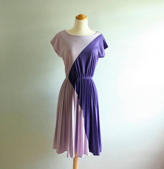 paars lila jurk dress