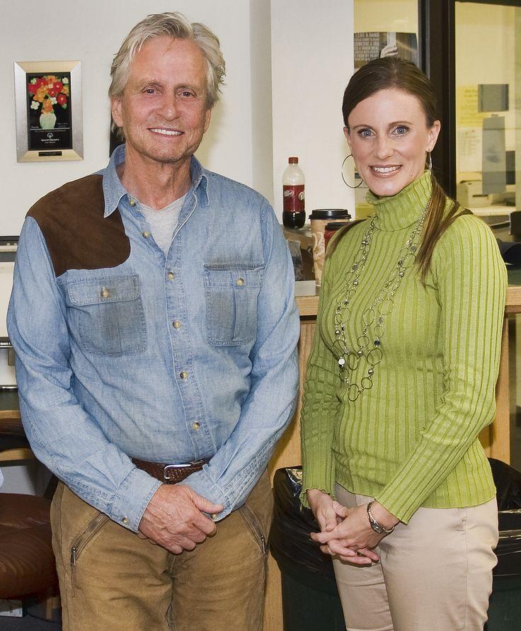 Michael Douglas and Georgette Allen, FPD's PIO