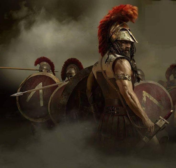 Una de hoplitas, que hace tiempo que no subimos... En esta ocasión unos espartanos. Más en www.elgrancapitan.org/foro