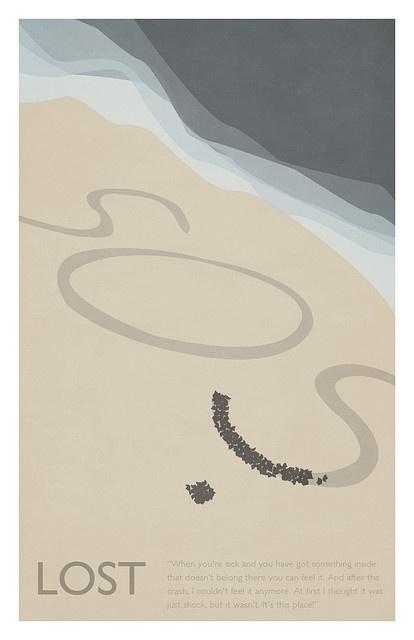 Gideon Slife - Lost Season 2 poster - SOS