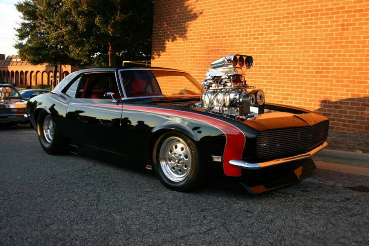 Blown Camaro Muscle Cars With Blowers Pinterest Cars