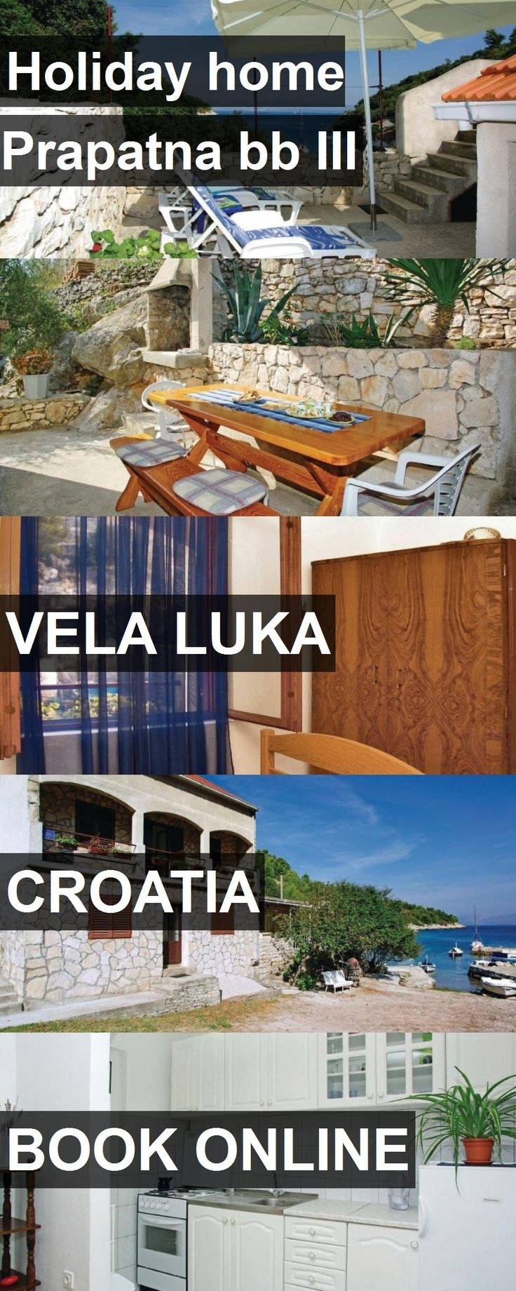 Hotel Holiday home Prapatna bb III in Vela Luka, Croatia. For more information, photos, reviews and best prices please follow the link. #Croatia #VelaLuka #travel #vacation #hotel